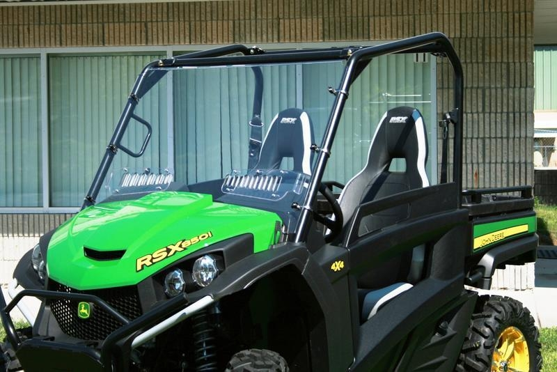 Gator XUV RSX 850i Full vented windshield JD-LWV-850i
