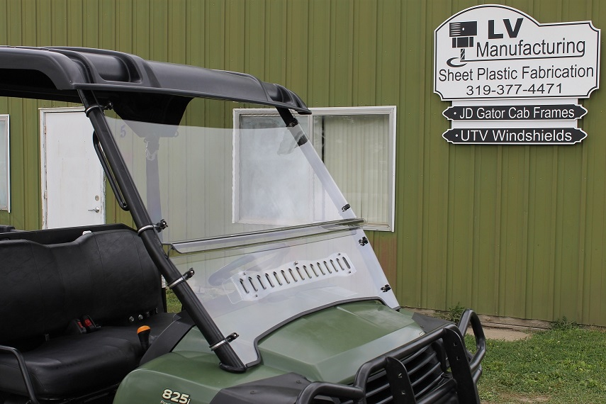 XUV 620-850 Full Vented Windshield JD-XLWS-19